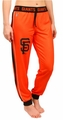 San Francisco Giants MLB Poly Fleece Women's Jogger Pant by Forever Collectibles
