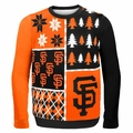San Francisco Giants MLB Ugly Sweater BusyBlock