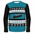 San Jose Sharks NHL Ugly Sweater Wordmark