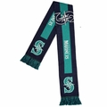 Seattle Mariners 2016 MLB Big Logo Scarf By Forever Collectibles