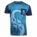 Seattle Mariners MLB Cotton/Poly Pocket Tee