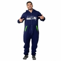 Seattle Seahawks (Blue) Adult One-Piece NFL Klew Suit