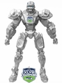 "Seattle Seahawks Limited Edition Super Bowl Champs 10"" Team Cleatus Fox Robot Action 2.0"