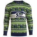 Seattle Seahawks NFL 2016 Aztec Ugly Crew Neck Sweaters by Forever Collectibles