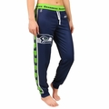 Seattle Seahawks NFL Poly Fleece Women's Jogger Pant by Klew