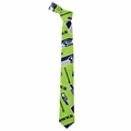 Seattle Seahawks NFL Ugly Tie Repeat Logo by Forever Collectibles