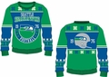 Seattle Seahawks Retro Cotton Sweater by Klew