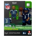 Seattle Seahawks Super Bowl XLVIII Champions NFL OYO Sportstoys Minifigures