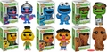 Sesame Street Funko POP! Series 1 Complete Set (6)