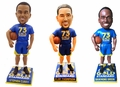 Curry/Thompson/Green (Golden State Warriors) 73 Wins (Set of 3) 2016 NBA Bobbleheads Forever Collectibles