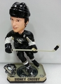 Sidney Crosby (Pittsburgh Penguins) Forever Collectibles 2014 NHL Springy Logo Base Bobblehead