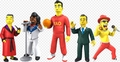 The Simpsons 25th Anniversary: Celebrity Guest Stars NECA