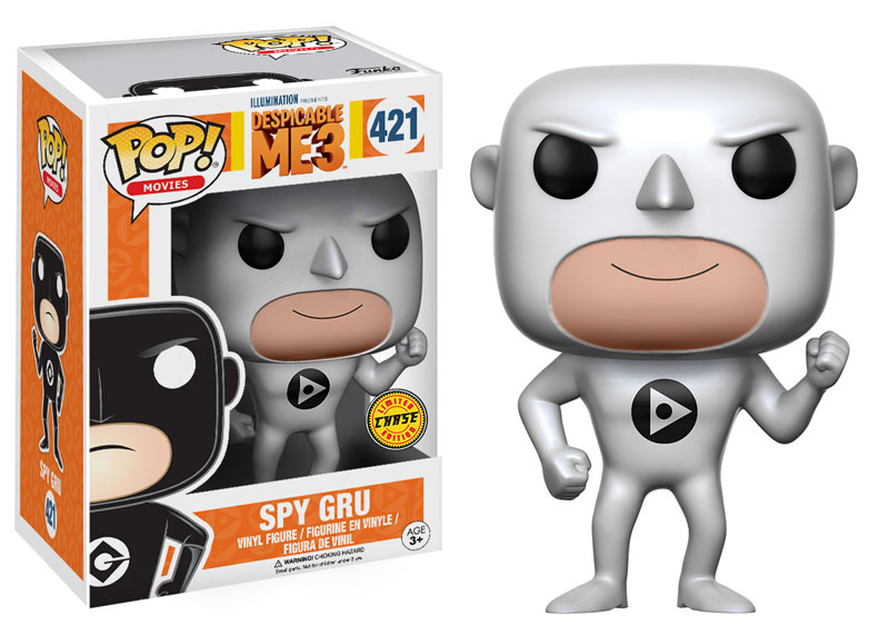 Spy Gru Chase Despicable Me 3 Funko Pop