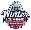 St. Louis Blues 2017 NHL WInter Classic Bobbleheads Set (3)