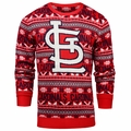 St. Louis Cardinals MLB 2016 Aztec Ugly Crew Neck Sweaters by Forever Collectibles