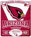 Arizona Cardinals NFL Fleece Throw Blanket