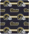 St. Louis Rams NFL Fleece Throw Blanket