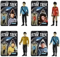 Star Trek Funko ReAction Series 1 Complete Set (4)