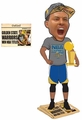 Stephen Curry (Golden State Warriors) 2015 NBA Champions (Real Fabric T-Shirt/Champ Hat) Bobble Head Exclusive #/500