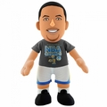 "Stephen Curry (Golden State Warriors) 2015 NBA Champs (T-Shirt) 10"" Player Plush NBA Bleacher Creatures"