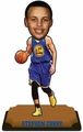 "Stephen Curry (Golden State Warriors) 2015 NBA Real Jersey 10"" Bobble Heads Forever Collectibles"
