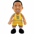 "Stephen Curry (Golden State Warriors) (Gold Jersey) 10"" Player Plush NBA Bleacher Creatures"