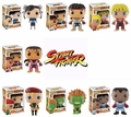Street Fighter Complete Set (7) Funko Pop!
