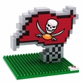Tampa Bay Buccaneers NFL 3D Logo BRXLZ Puzzle By Forever Collectibles