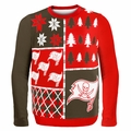 Tampa Bay Buccaneers NFL Ugly Sweater Busy Block