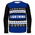 Tampa Bay Lightning NHL Ugly Sweater Wordmark