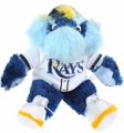"Tampa Bay Rays MLB 8"" Plush Team Mascot"