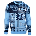 Tennessee Titans 2016 Patches NFL Ugly Crew Neck Sweater by Forever Collectibles