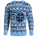 Tennessee Titans NFL 2016 Aztec Ugly Crew Neck Sweaters by Forever Collectibles