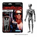 Chrome T-800 (The Terminator) ReAction 3 3/4-Inch Retro Action Figure