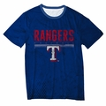 Texas Rangers Big Logo Half Tone Tee by Forever Collectibles