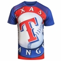 Texas Rangers Big Logo Tee by Forever Collectibles
