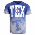 Texas Rangers MLB Gray Gradient Tee by Forever Collectibles