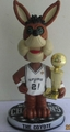 The Coyote (San Antonio Spur - Mascot) 2014 NBA Champ Trophy Bobble Head