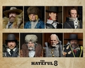 The Hateful Eight 8 Inch Figure Complete Set of 8 by NECA