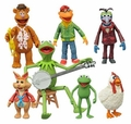 The Muppets Series 1 Complete Set (3) Action Figure 2/3-Packs Diamond Select Toys