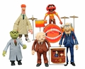 The Muppets Series 2 Complete Set (3) Action Figure 2-Packs Diamond Select Toys