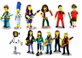"""The Simpsons 25th Anniversary 5"""" Action Figures Series 4 Complete Set (12) NECA"""