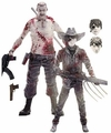 The Walking Dead (Comic Book) Series 4 Carl Grimes & Abraham Ford (Bloody Black & White) 2-Pack McFarlane Exclusive