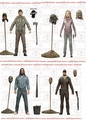 The Walking Dead (Comic Version) Series 5 Complete Set (4) McFarlane
