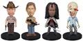 The Walking Dead Mini Wacky Wobbler 4 Pack Funko