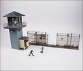 The Walking Dead TV Prison Tower & Gate McFarlane Building Set