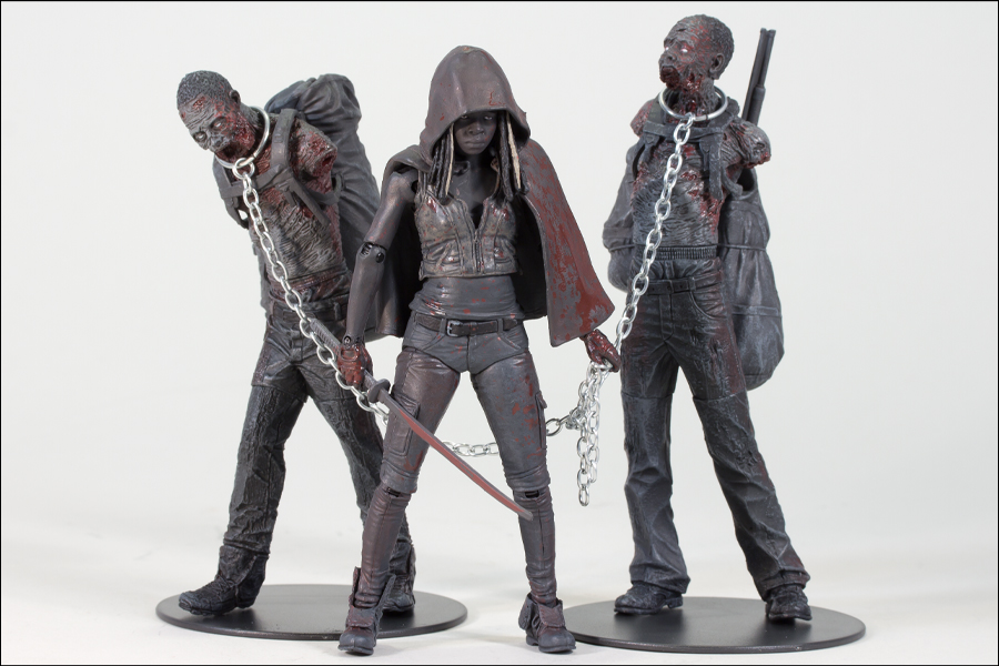 Review and photos of Merle, Michonne Walking Dead action figure by ...