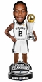Kawhi Leonard (San Antonio Spurs) 2014 Finals MVP Trophy Bobble Head