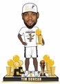 Tim Duncan (San Antonio Spurs) 5X NBA Champ Base (2014 T-Shirt/Hat) 3X Finals MVP Trophy Bobble Head Exclusive #/300