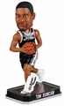 Tim Duncan (San Antonio Spurs) Forever Collectibles 2014 NBA Springy Logo Base Bobblehead